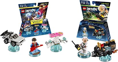 Back To The Future Marty McFly Level Pack + Doc Brown Fun Pack - Lego Dimensions