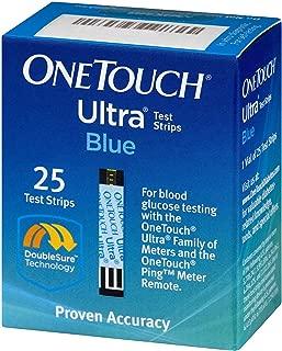Ultra Test Strips Blue 25 Ct
