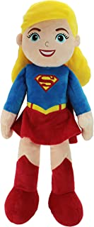 "Animal Adventure | DC Comics Justice League | Supergirl | 21"" Collectible Plush, Red"