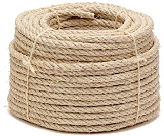 Sisal touw, Ø 10 mm, 50 m