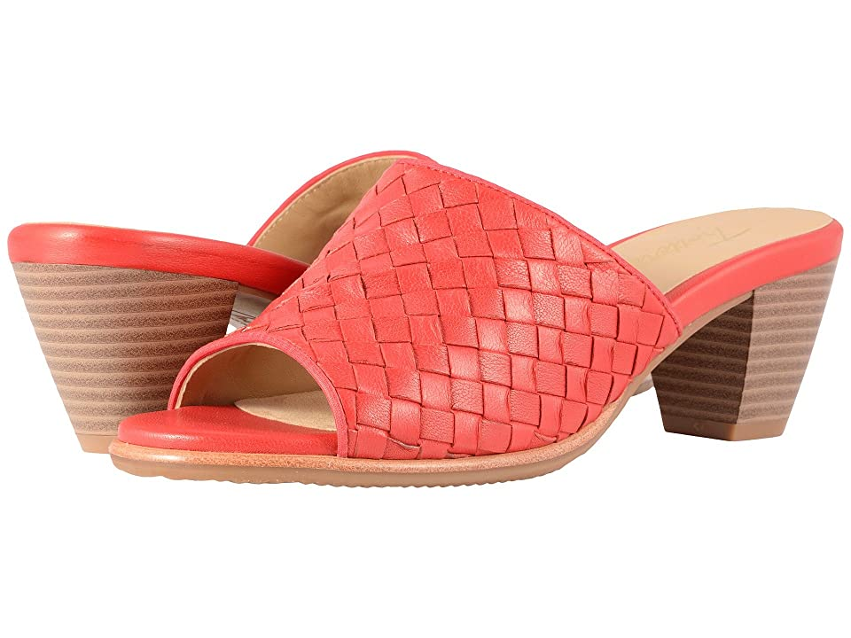 Trotters Corsa (Red Woven Leather) Women
