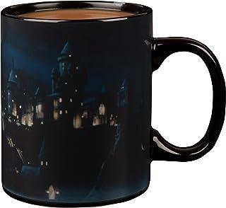 Harry Potter Hogwarts Castle Heat Reveal Ceramic Coffee Mug - Image Activates with Heat - 11 oz