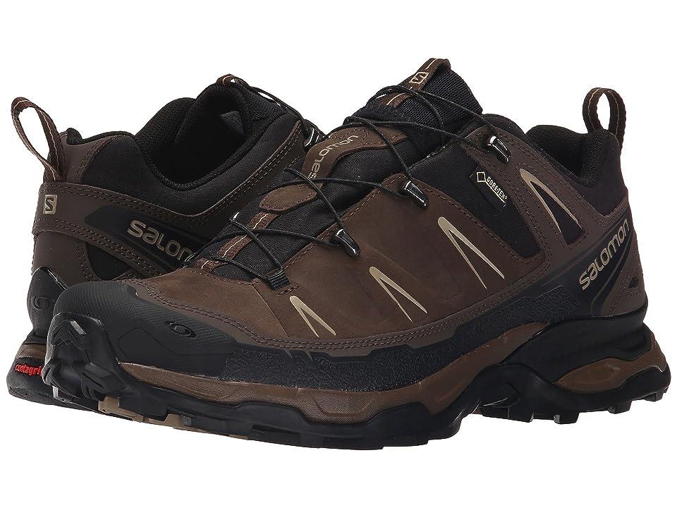 Salomon X Ultra LTR GTX(r) (Absolute Brown-X/Black/Navajo) Men