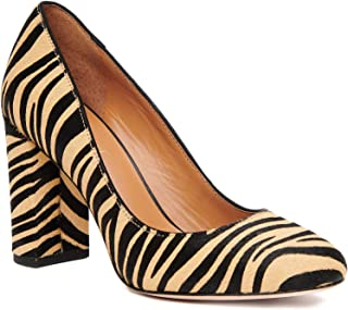 J.McLaughlin Womens Mila Pumps in Zebra