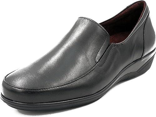 Zapato Casual damen Tipo mocasín PITILLOS en Piel Farbe schwarz - 1200 10