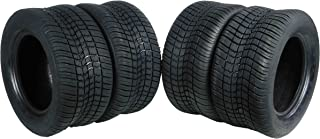 MASSFX SL2055010(x4) 4 PLY Golf Cart Turf Tires 205/50-10, Set of four (4) Tires