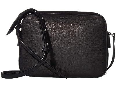 AllSaints Shirley Crossbody (Black) Handbags