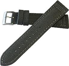 Hadley-Roma Men's Genuine 'Cordura' Watch Band (Vegan, Sustainable) MS-850