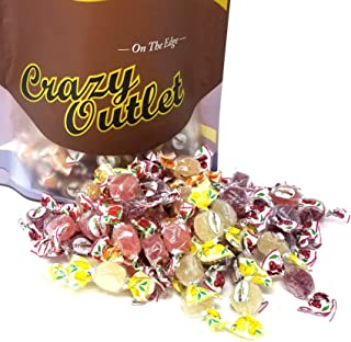 CrazyOutlet Pack - Fida Bonelle Italian Jelly Candy, Strawberry, Cherry, Orange, Lemon Flavored Jelly Candy Assortment, Gluten Free, Bulk Pack, 2 lbs