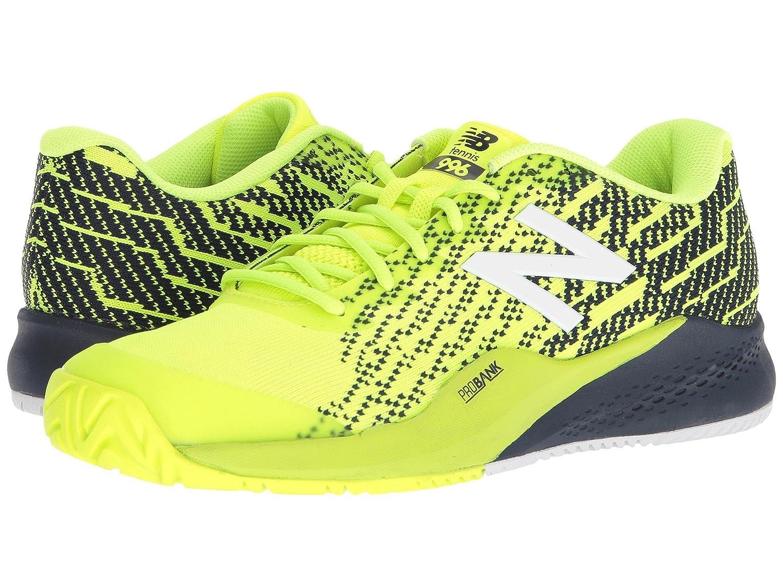 (ニューバランス) New Balance メンズテニスシューズ?スニーカー?靴 996v3 Hi-Lite/Pigment 9.5 (27.5cm) EE - Wide