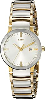Rado Women's R30932103 Cerix Two Tone Stainless Steel Watch