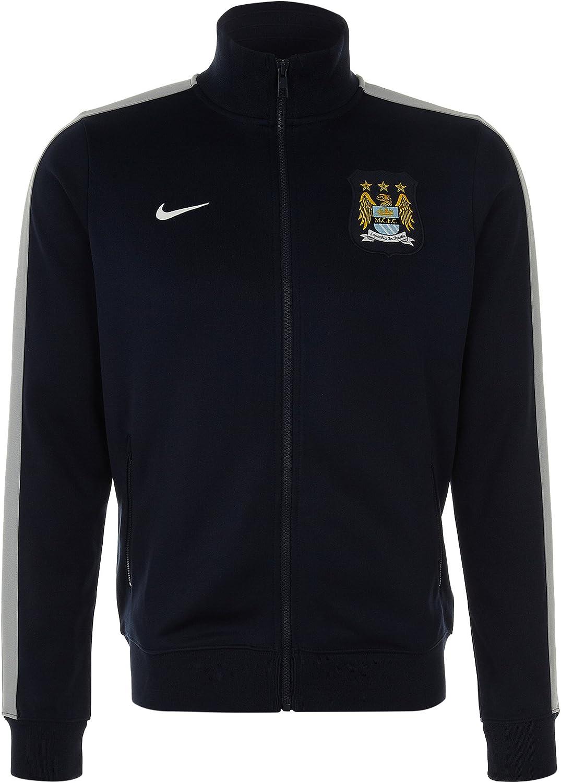 2013-14 Man City Nike Authentic N98 Jacket (Navy)