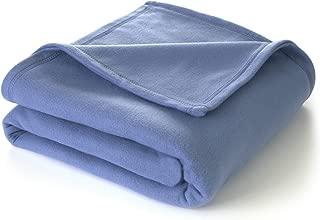 Martex Super Soft Fleece Blanket - Twin, Warm, Lightweight, Pet-Friendly, Throw for Home Bed, Sofa & Dorm - Slate Blue