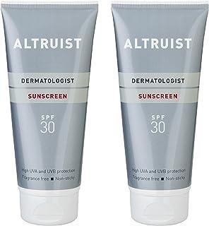 Altruist 防晒霜 SPF 30 - 高长波紫外线防护