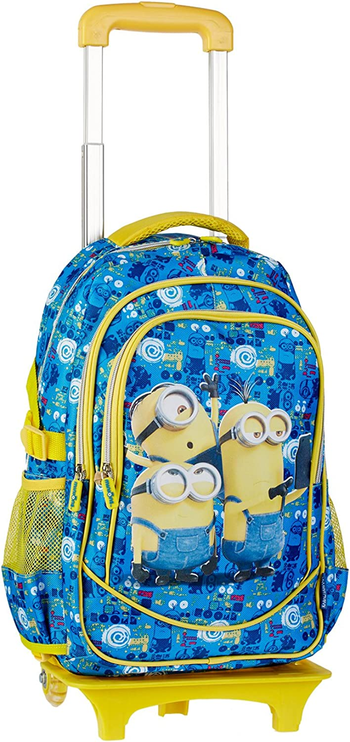 Minions Trolley Backpack (with Wheels)  53412