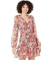 Triple Frill Floral Dress