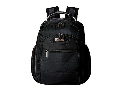 Kenneth Cole Reaction Ez Scan Computer Backpack (Black) Backpack Bags