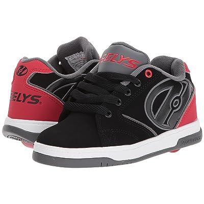 Heelys Propel 2.0 (Little Kid/Big Kid) (Black/Red/Grey) Boys Shoes