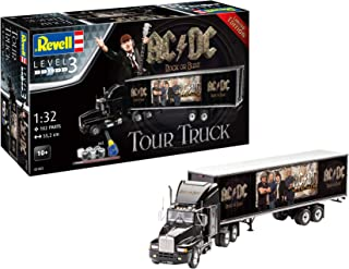 Revell 07453 10 Maqueta de Regalo Set Truck & trailerac/DC En Escala 1: 32, Nivel 3