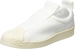 adidas Womens Originals Superstar BW35 Slip On Trainers Sneakers in Footwear White/Off White.