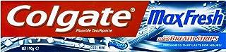 Colgate Max Fresh Breath Freshness Toothpaste Cool Mint, 190g