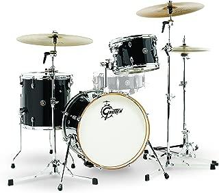 Gretsch Drums CT1-J483-PB Catalina Club 3 Piece Drum Shell Pack, Piano Black