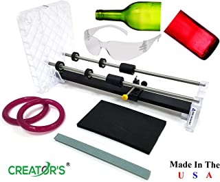 Creator's Glass Bottle Cutter Machine Kit – Home Entertainment System –..