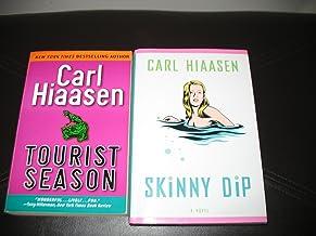 2 book set by Carl Hiaasen~Tourist Season/Skinny Dip