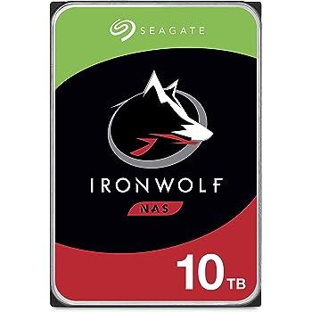 Seagate IronWolf 10TB NAS Internal Hard Drive HDD – CMR 3.5 Inch SATA 6Gb/s 7200 RPM 256MB Cache for RAID Network Attached Storage (ST10000VN0008) (ST10000VNZ008/N0008)