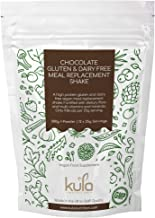 Kula Nutrition aE Vegan Chocolate Dairy and Gluten Free Meal Replacement Shake for Weight Loss – 300g 12x Servings aE Low Sugar Low Fat Slim Shake with Soy Protein Isolate and Vitamins and Minerals Estimated Price : £ 17,97