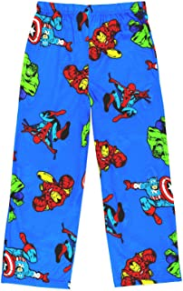 Image of Blue Marvel Avengers Pajama Pants for Boys