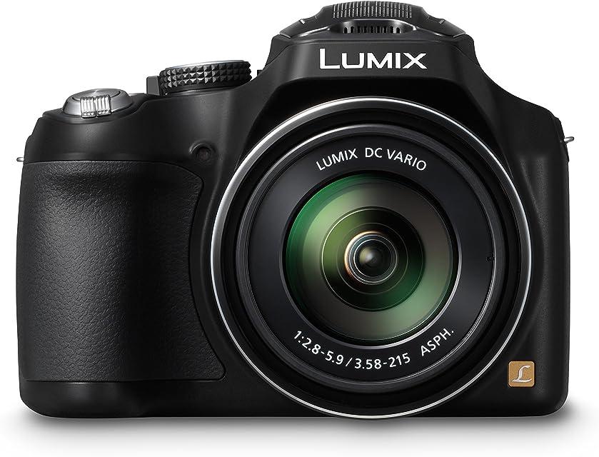 Panasonic Lumix DMC-FZ72EG-K - Cámara compacta de 16.1 Mp (pantalla de 3 zoom óptico 60x estabilizador de imagen óptico) negro (versión importada)