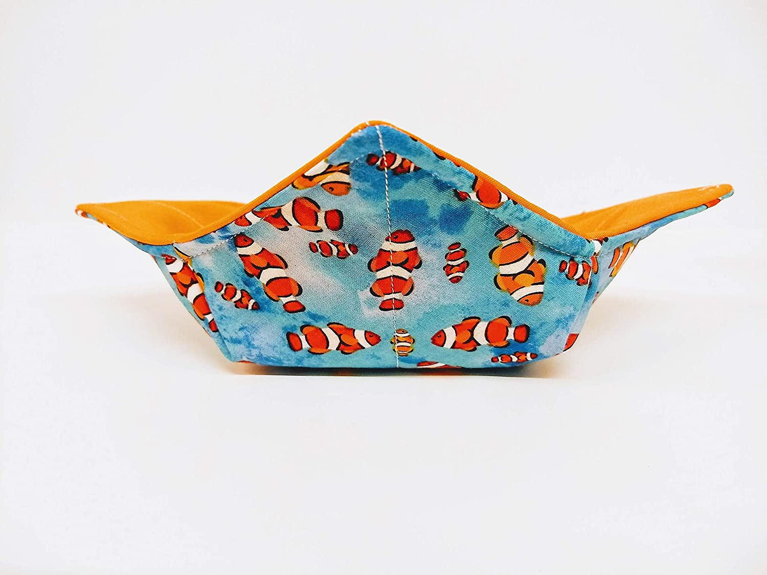 Clown Fish Popular products print quilted cotton soup microwavable Popular overseas reversible bow