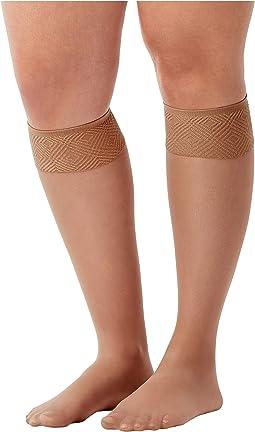 Sheer Hi-Knee Socks - Two Pack!