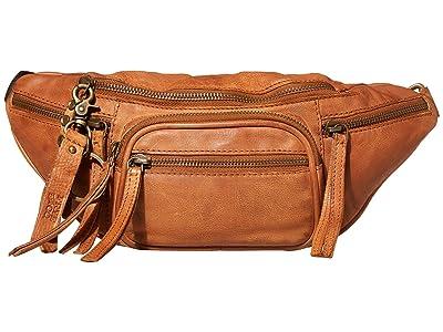 FRYE AND CO. Riley Belt Bag (Cognac) Cross Body Handbags