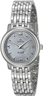 De Ville Prestige Mother of Pearl Dial Stainless Steel Ladies Watch 42410246005001