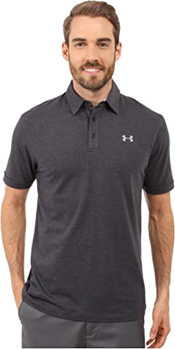 Under Armour Golf Charged Cotton Scramble Polo