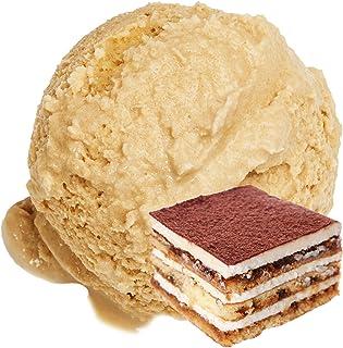 Sabor a Tiramisu 1 kg Polvo de hielo Gino Gelati Helado suave para su heladora