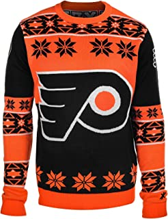 NHL Big Logo Ugly Crew Neck Sweater