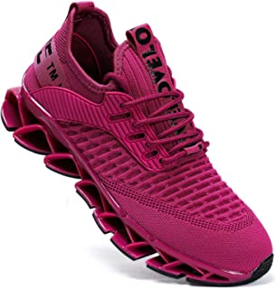 Kapsen Mens Running Shoes Mesh Breathable Sneakers Lightweight Fashion Athletic Gym Shoes Casual Tennis Sport Shoes for Wo...