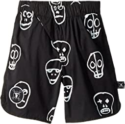 Nununu Skull Mask Surf Shorts (Little Kids/Big Kids)
