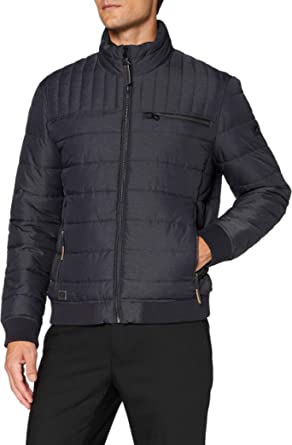 camel active Men's 4301604R5143 Quilted Jacket