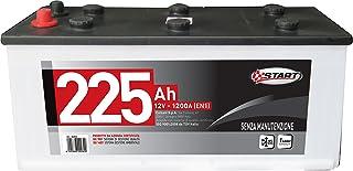 START Cavi Batteria 200Ah 5Mm2 2M Pinze Isolate In Abs Valigietta Auto Manutenzione