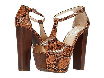 Jessica Simpson Dany (Brown) High Heels