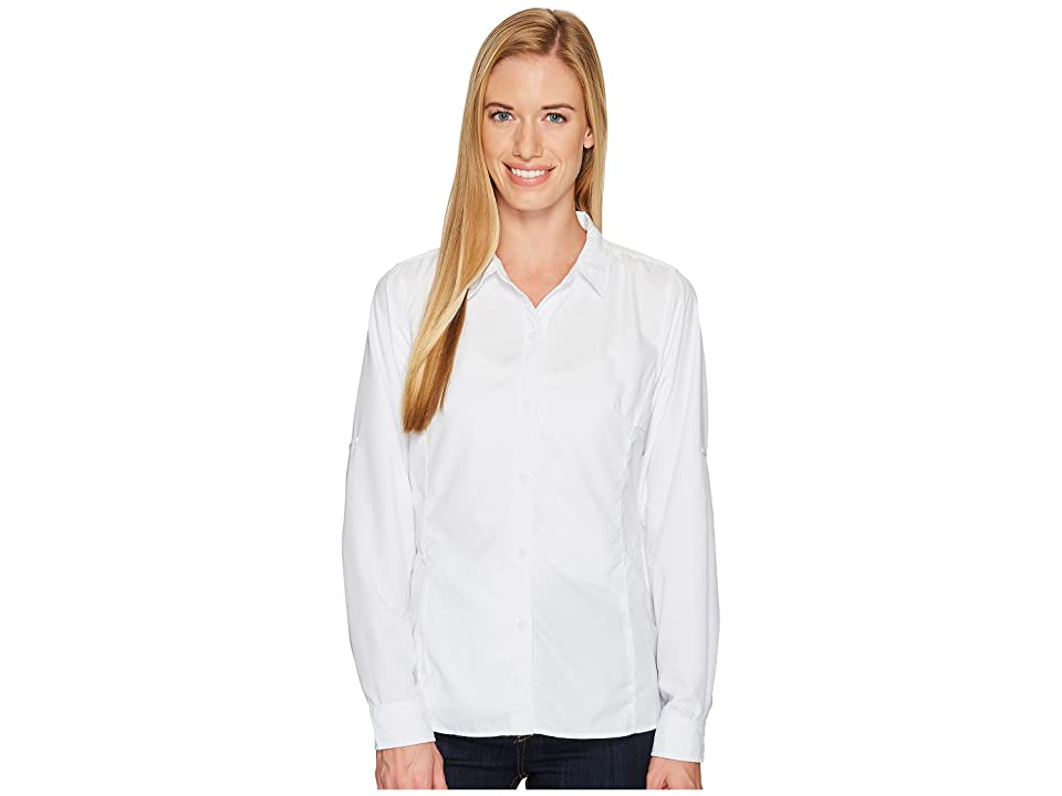 ExOfficio BugsAway Viento Long Sleeve Shirt (White) Women