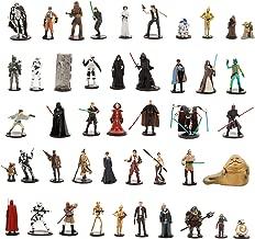 Star Wars Ultimate Figurine Set Action Figure Toy Playset Disney Collectible C-3PO-R2-D2-Luke Skywalker-Yoda-BB-8-Han Solo-Stormtrooper-Kylo Ren-Darth Vader-Leia-Chewy-Rey-Darth Maul-Obi-Wan-Anakin