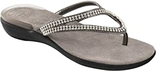 0705815b516f6f Scholl Lulu Glitter Avec Perles synthétiques Couleur Pewter Taille 35
