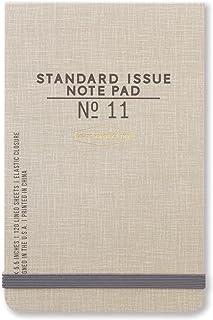 DesignWorks Ink Standard Issue Ledger Note Pad No. 11, Taupe