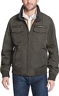 Tommy Hilfiger Men's Performance Bomber Jacket (Regular,...