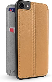Twelve South SurfacePad for iPhone 8/7 / 6 | Slim Luxury Leather Cover + Display Stand